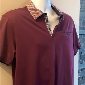 TED BAKER Polo.  Size 5 (US XL)